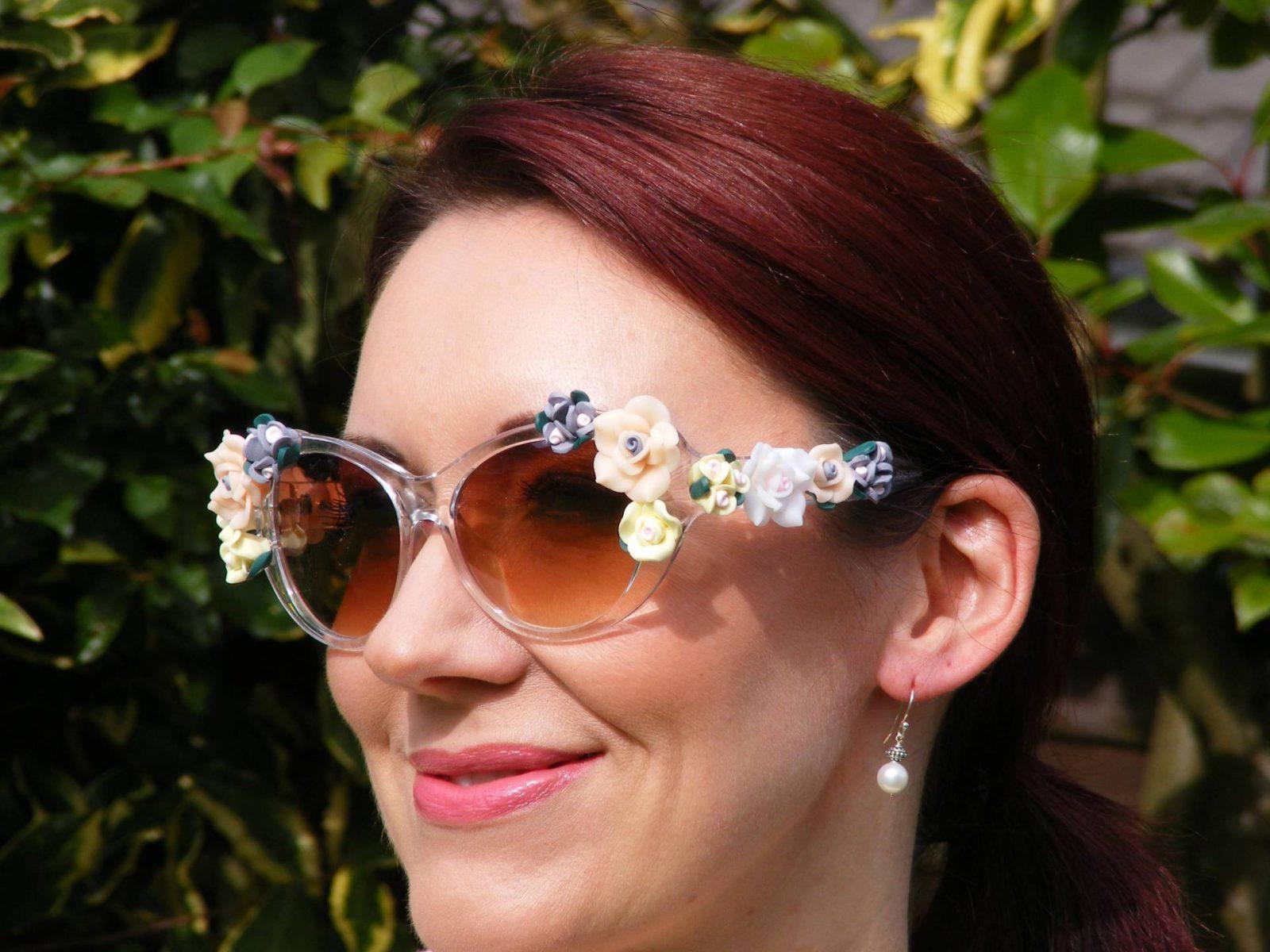 Asos flower sunglasses