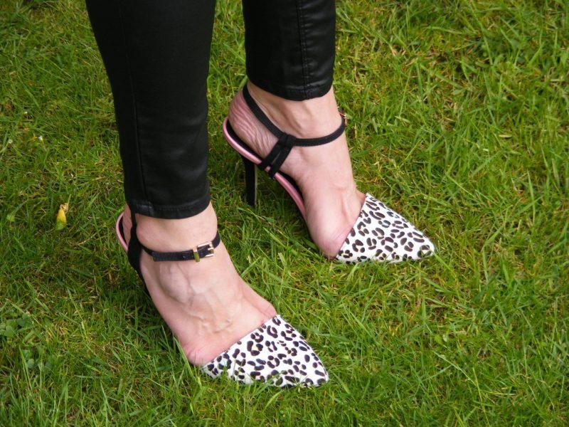 Miss KG leopard print shoes