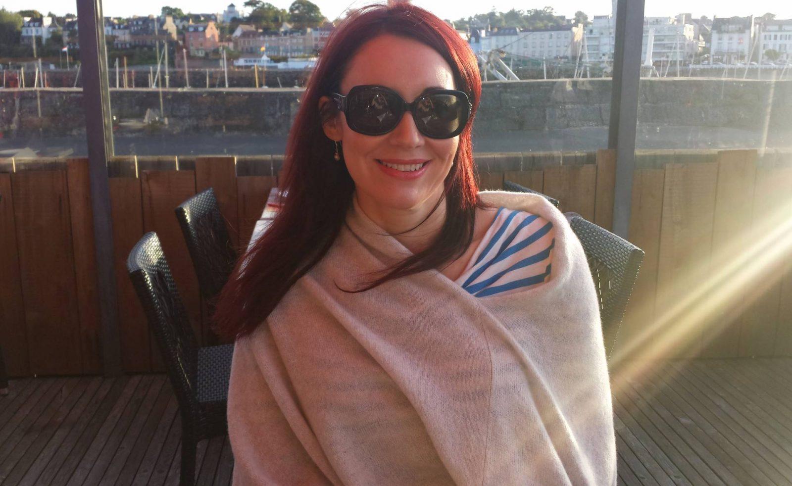Nautical Chic Breton Stripes Asos Culottes Hope pashmina