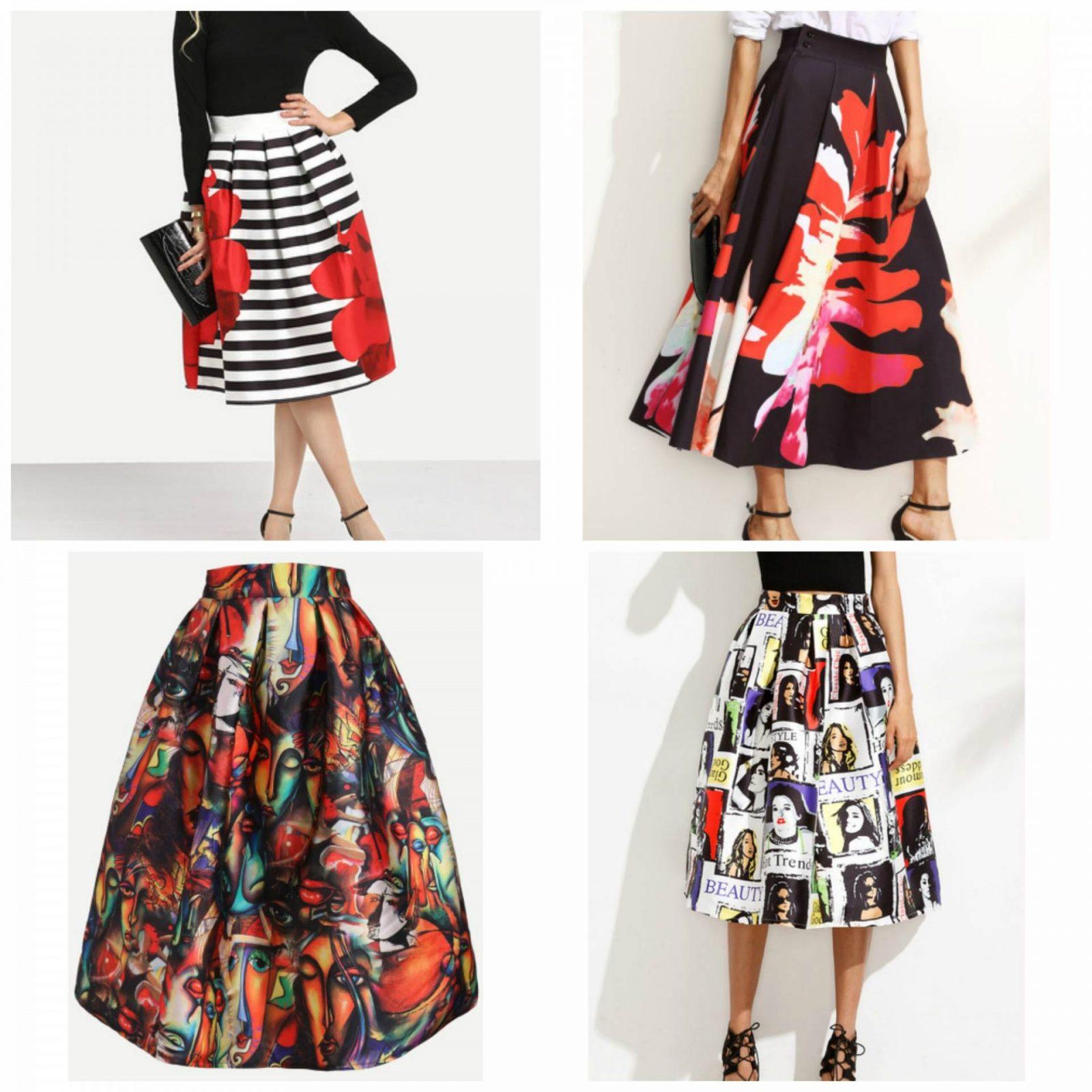 SheIn Wishlist skirts