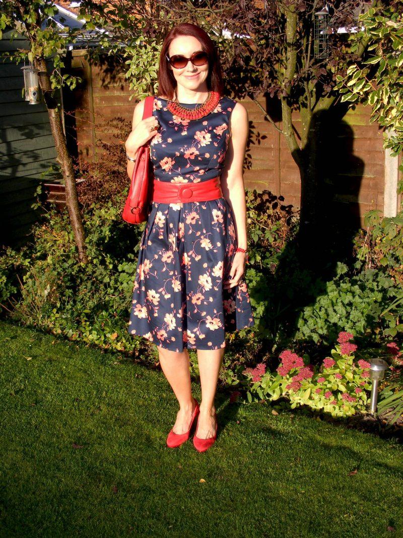 Bonmarche Floral Sateen Dress