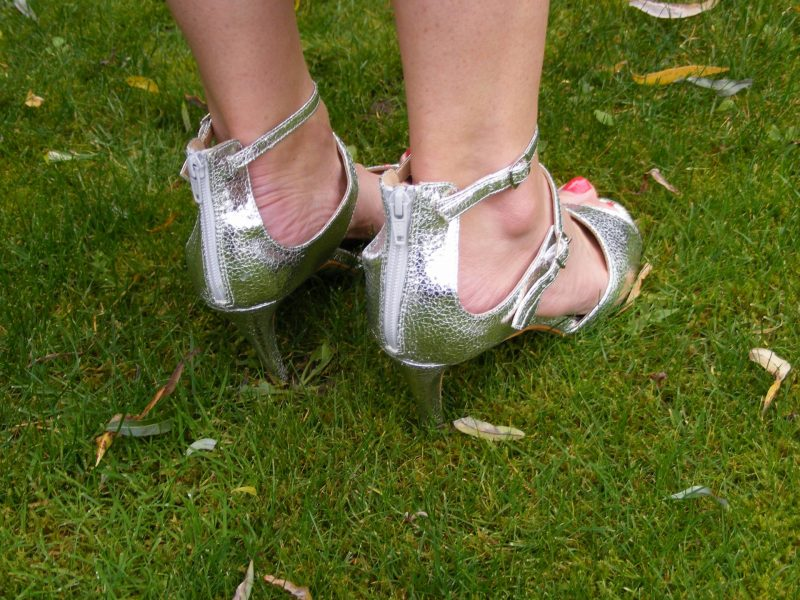 Matalan silver sandals
