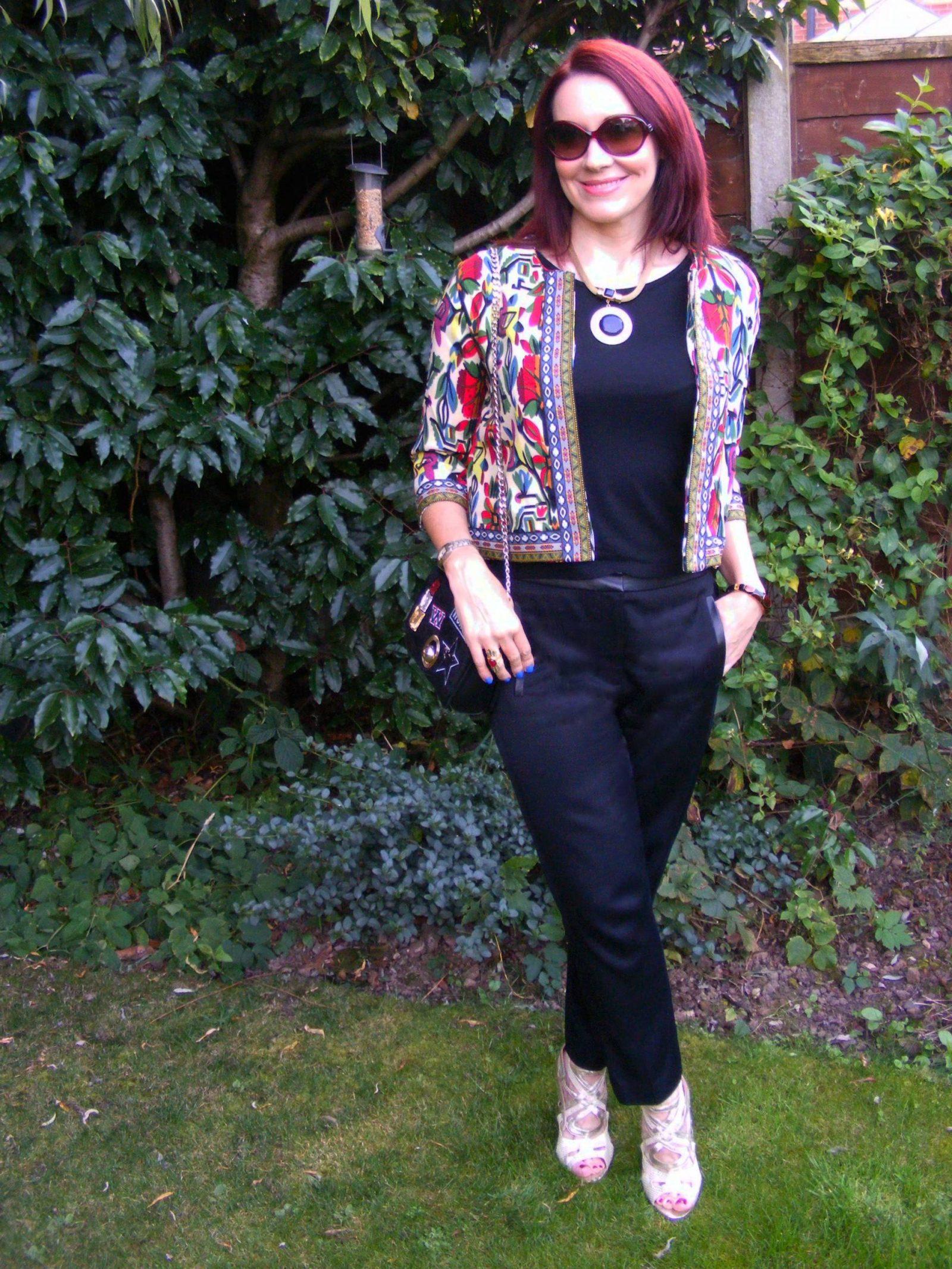 Shein Tribal Print Jacket Tibi Trousers