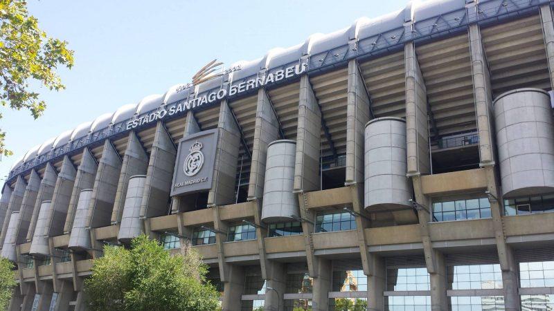 Bernabeu Stadium Madrid