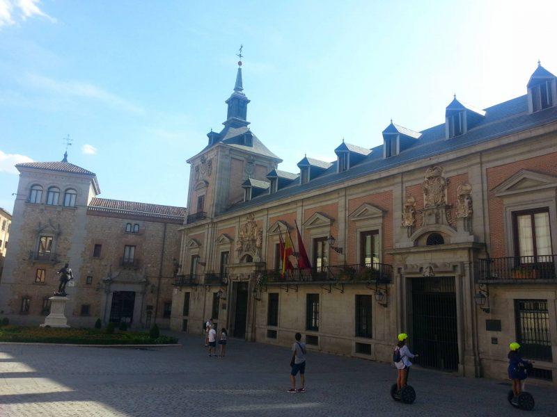 Madrid segways