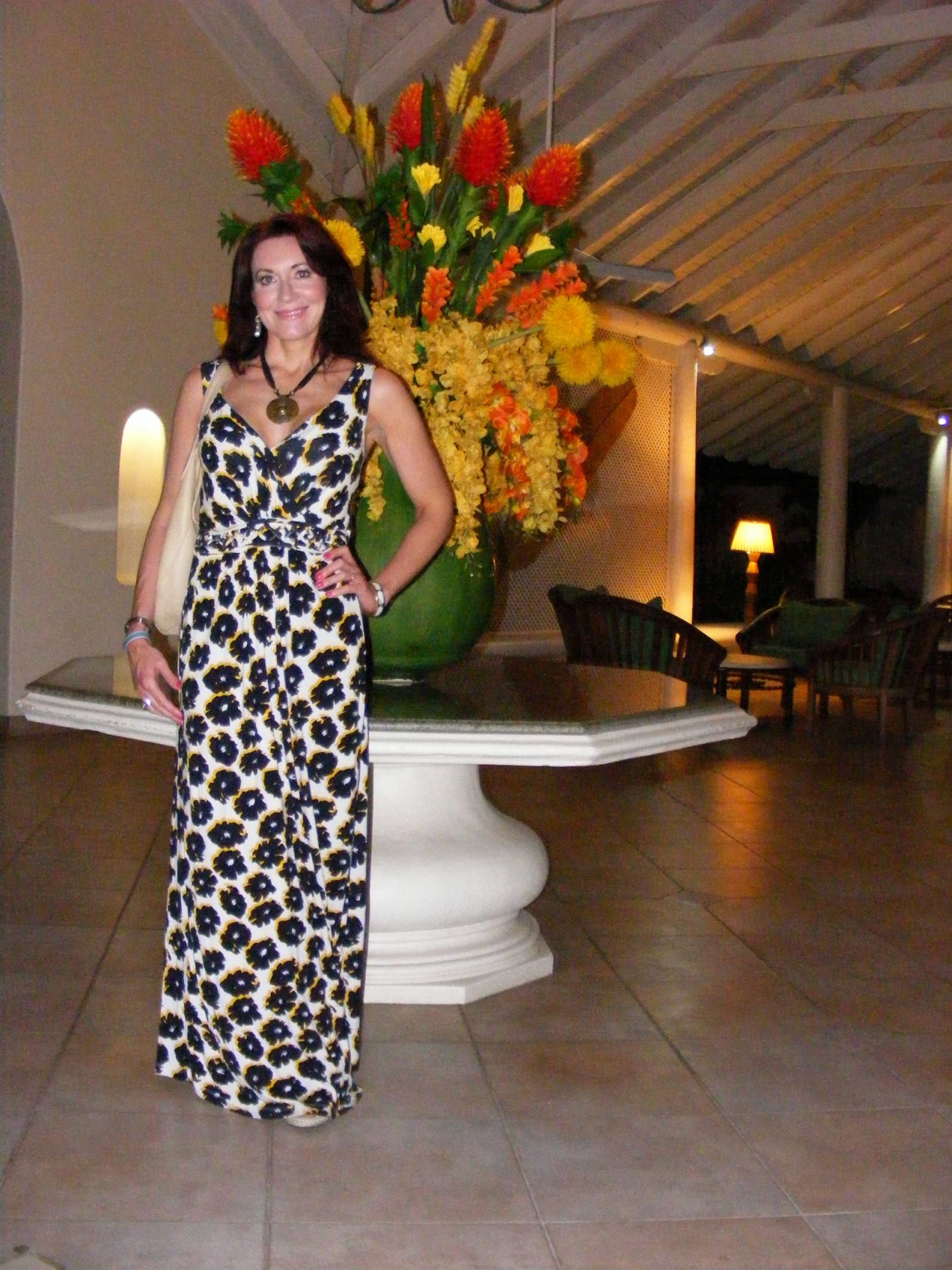 Barbados Holiday Maxi Dresses, Dickins and Jones maxi dress