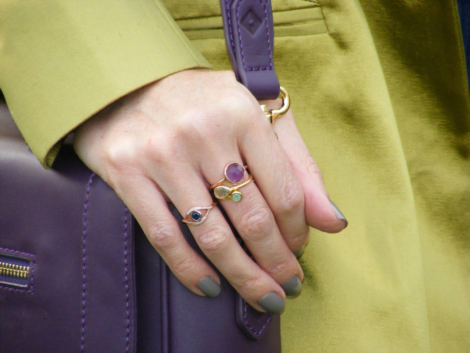 Pia Gold rings evil eye ring