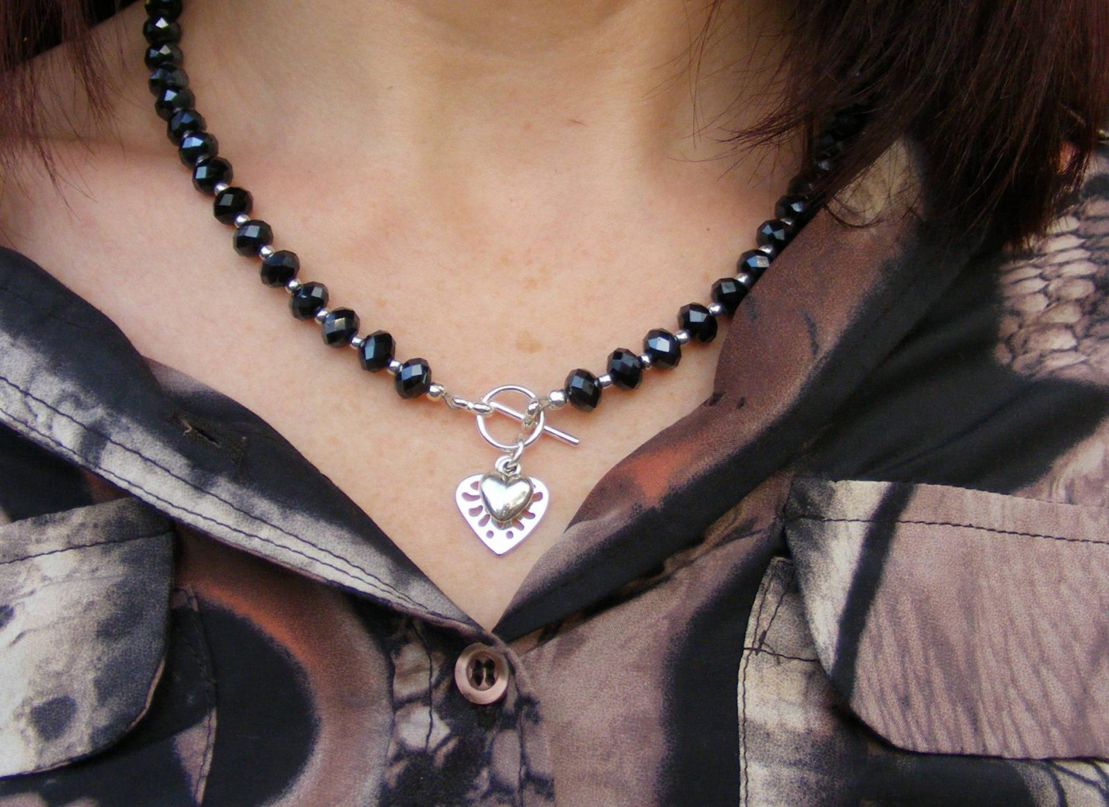 Eternal Collection Aurora Crystal Necklace Style With a Smile Link Up