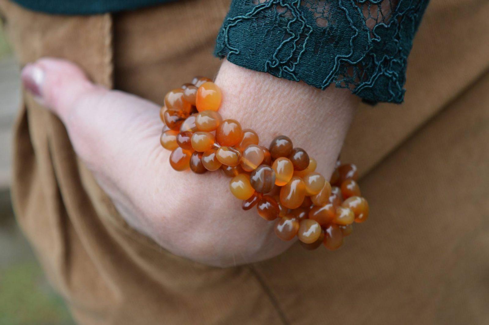 Pia carnelian bracelet