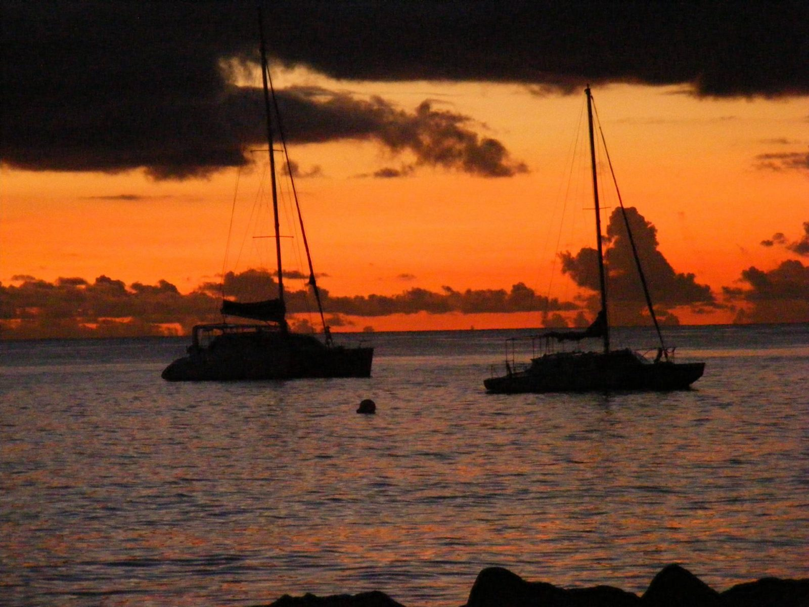 sunset at Surfside, Holetown, Barbados