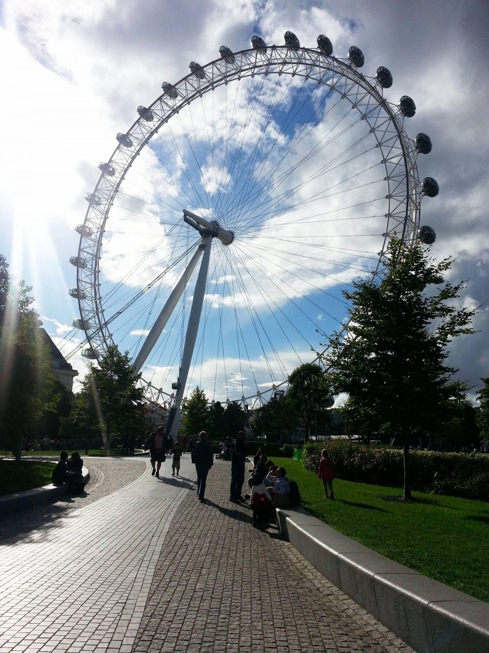 Weekend in London London-eye