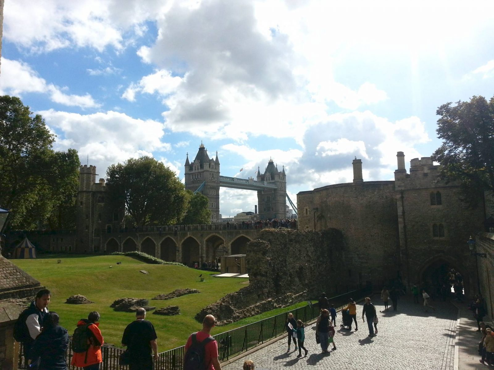 Weekend in London tower-of-london-view of London Bridge