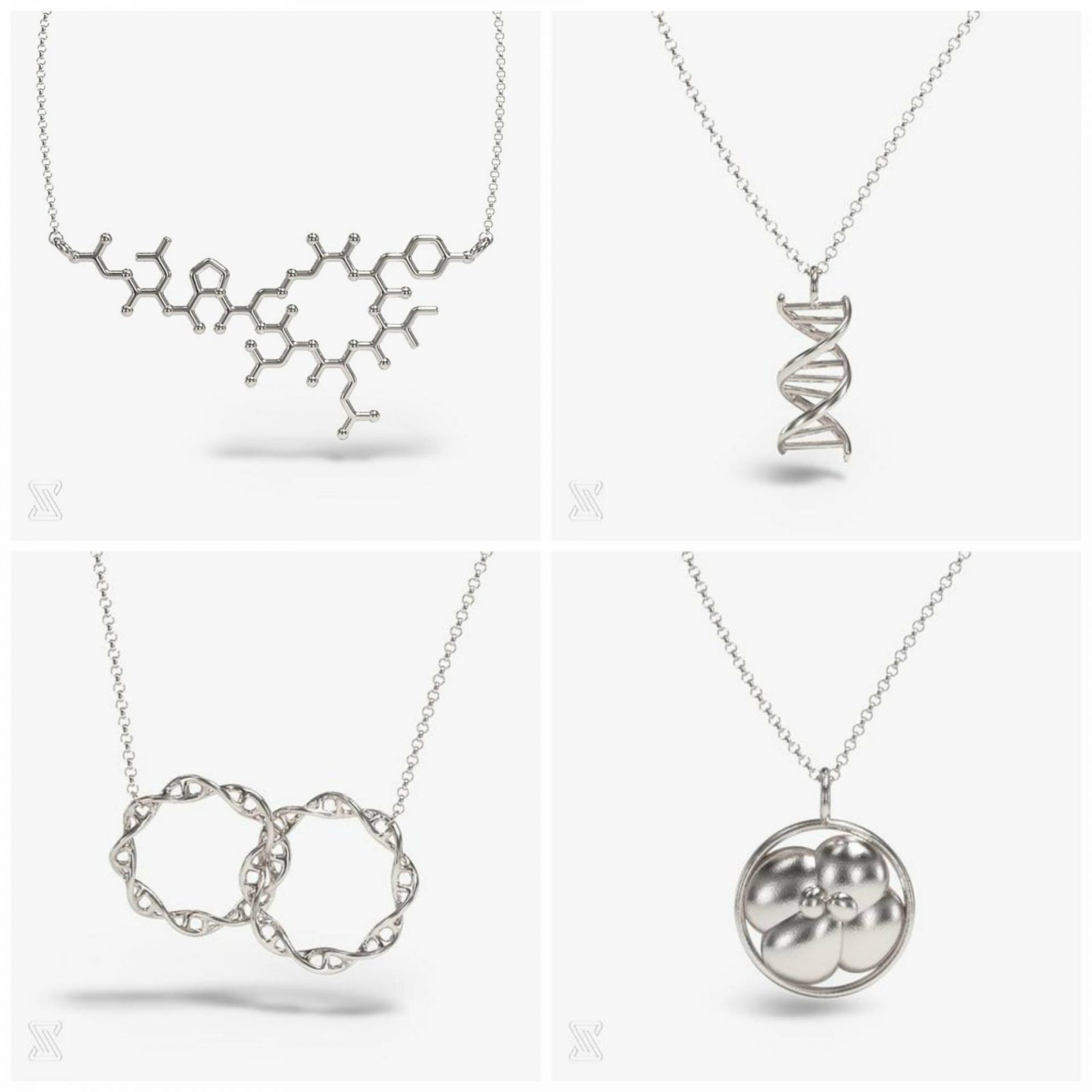 Mother's Day Gift Ideas Inspired by Nature somersault 18:24 science jewellery