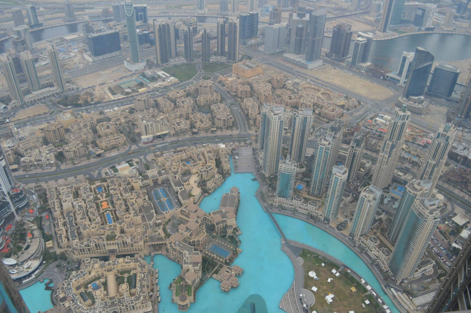 A Day in Dubai - Going Up the Burj Khalifa