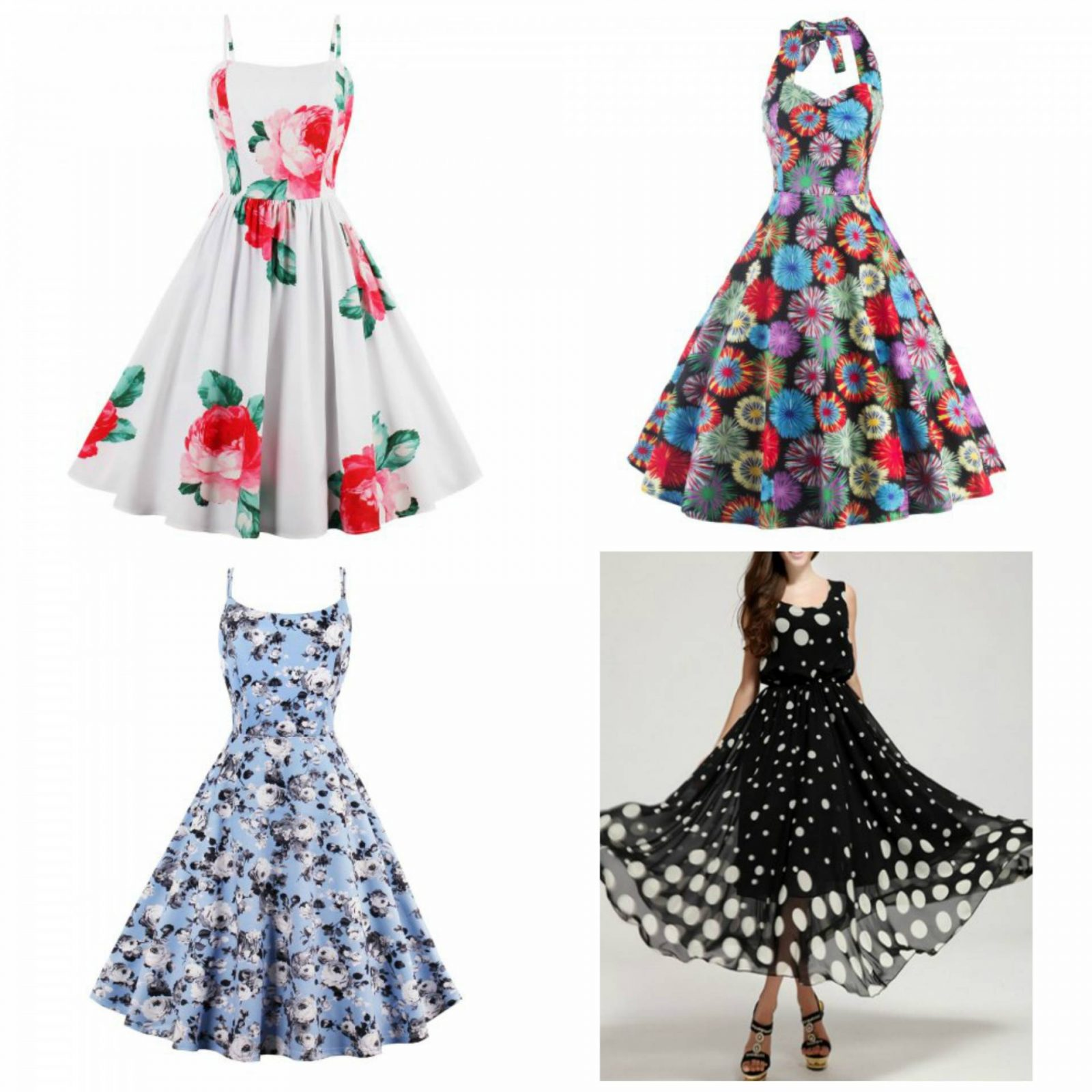 Rosegal Wishlist: Classy Dresses With a Vintage Twist