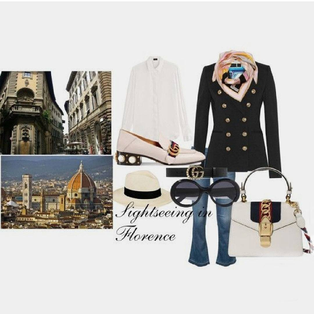 Capturing Tuscan Style: Dressing for the City and a Rural Retreat