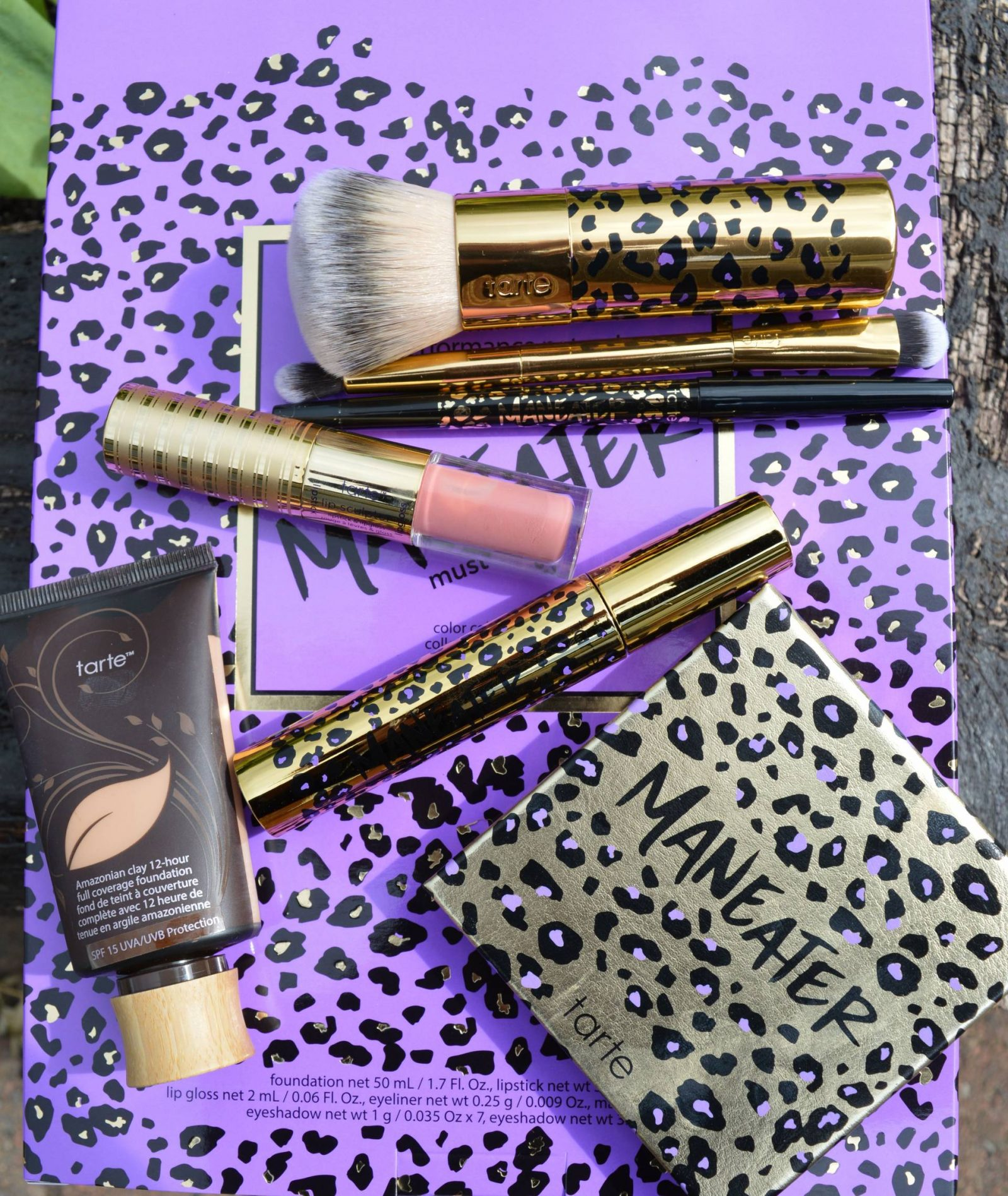Tarte 7 Piece Maneater Make-up Collection and Bag