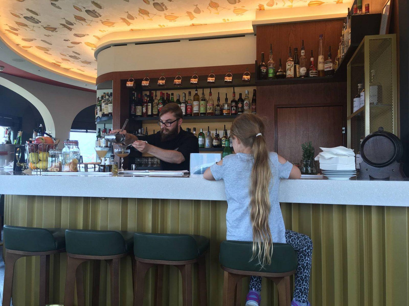 Jules Verne bar Zurich