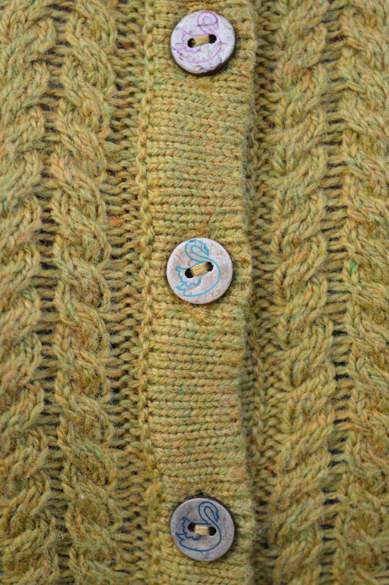 Mistral Swans Are Swimming Cardigan