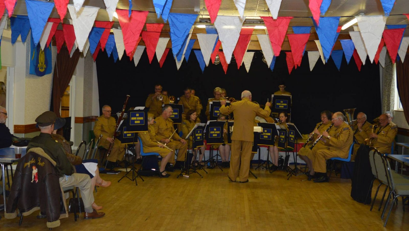 'Life on the Holme Front' 1940s Weekend band