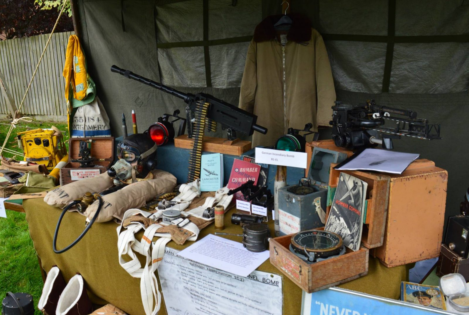 'Life on the Holme Front' 1940s Weekend ammunition