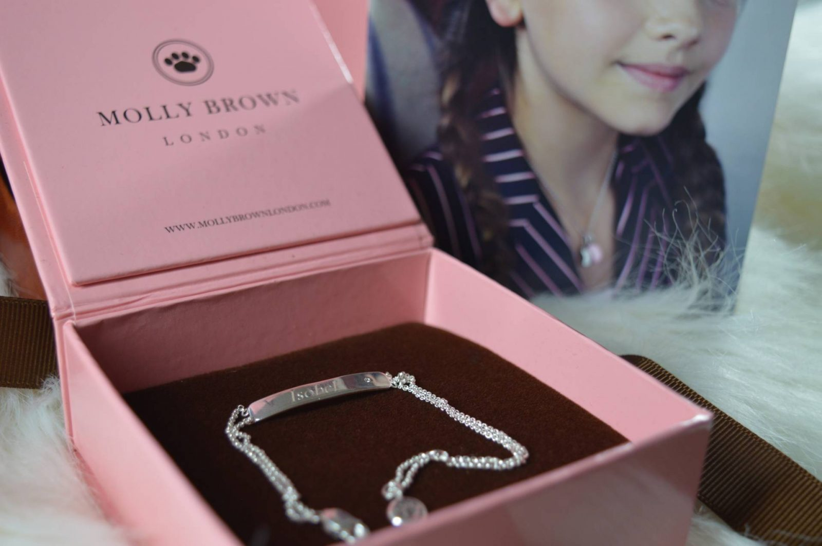 Molly Brown Personalised My First Diamond Bracelet From Prezzybox