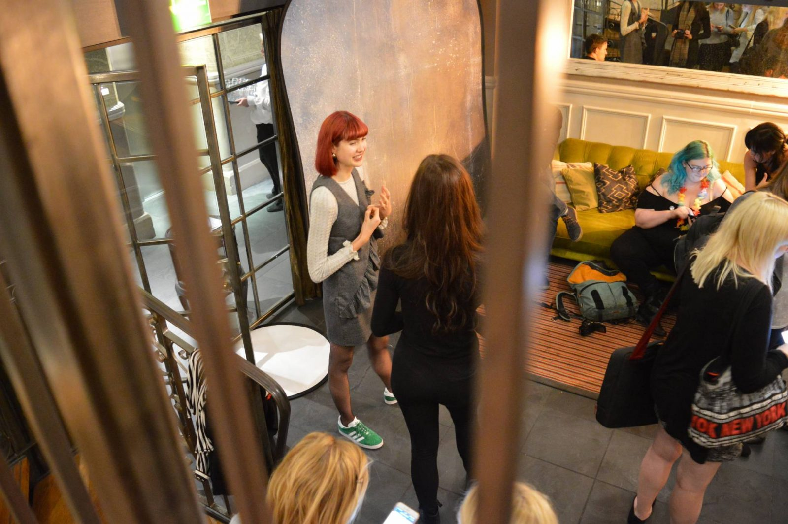 Manfrotto Photography Workshop in Manchester fashion shoot