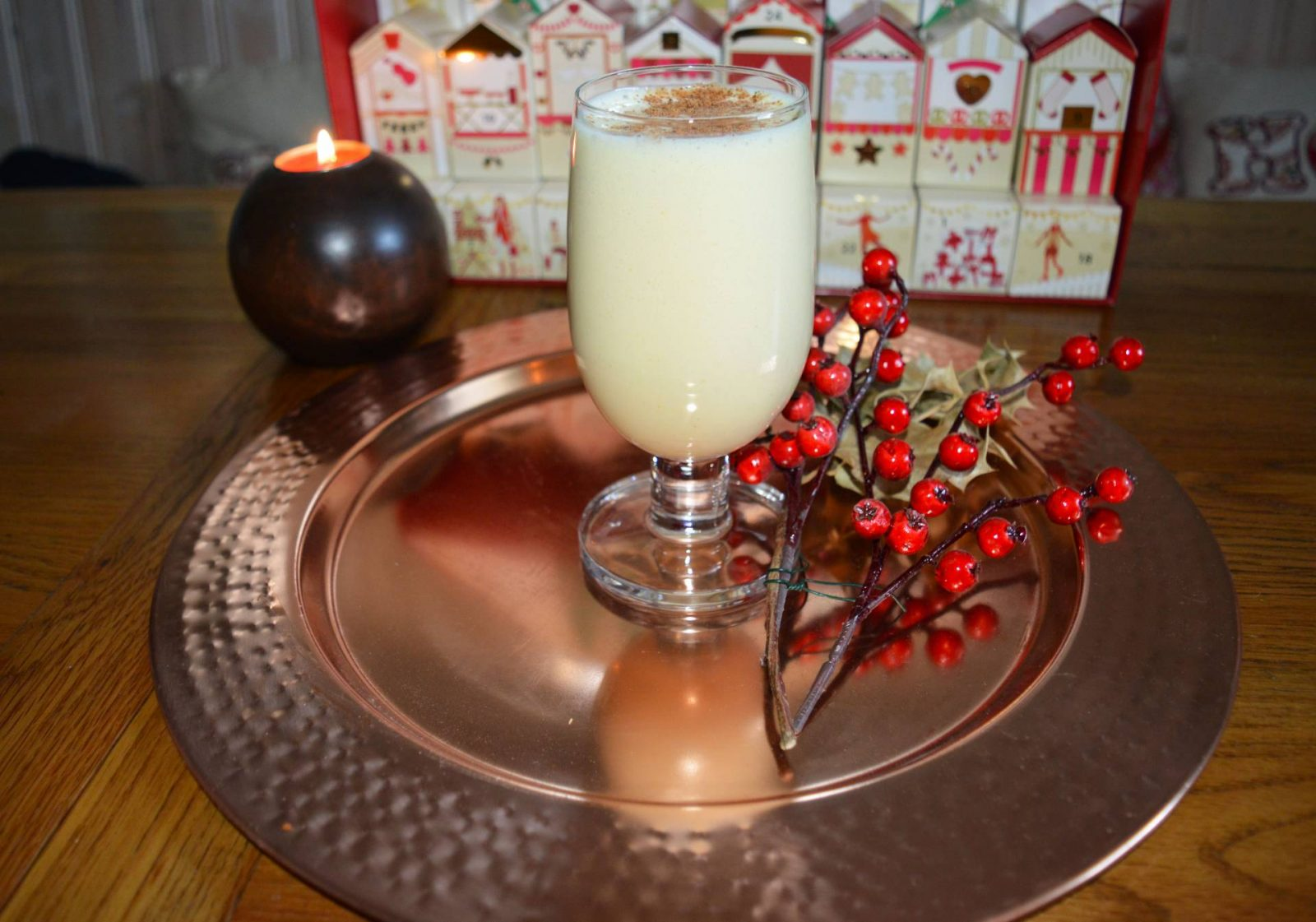 My First Vegan Christmas + Sunday Reflections Link Up vegan egg nog