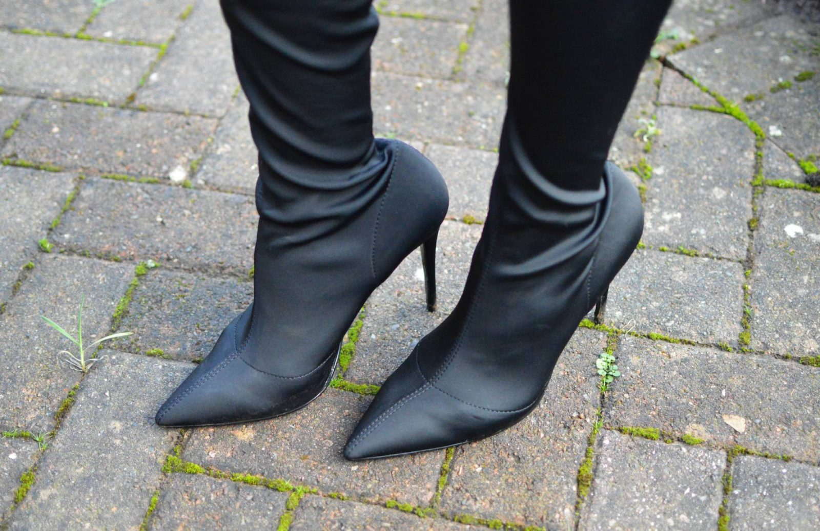 River Island over the knee sock boots