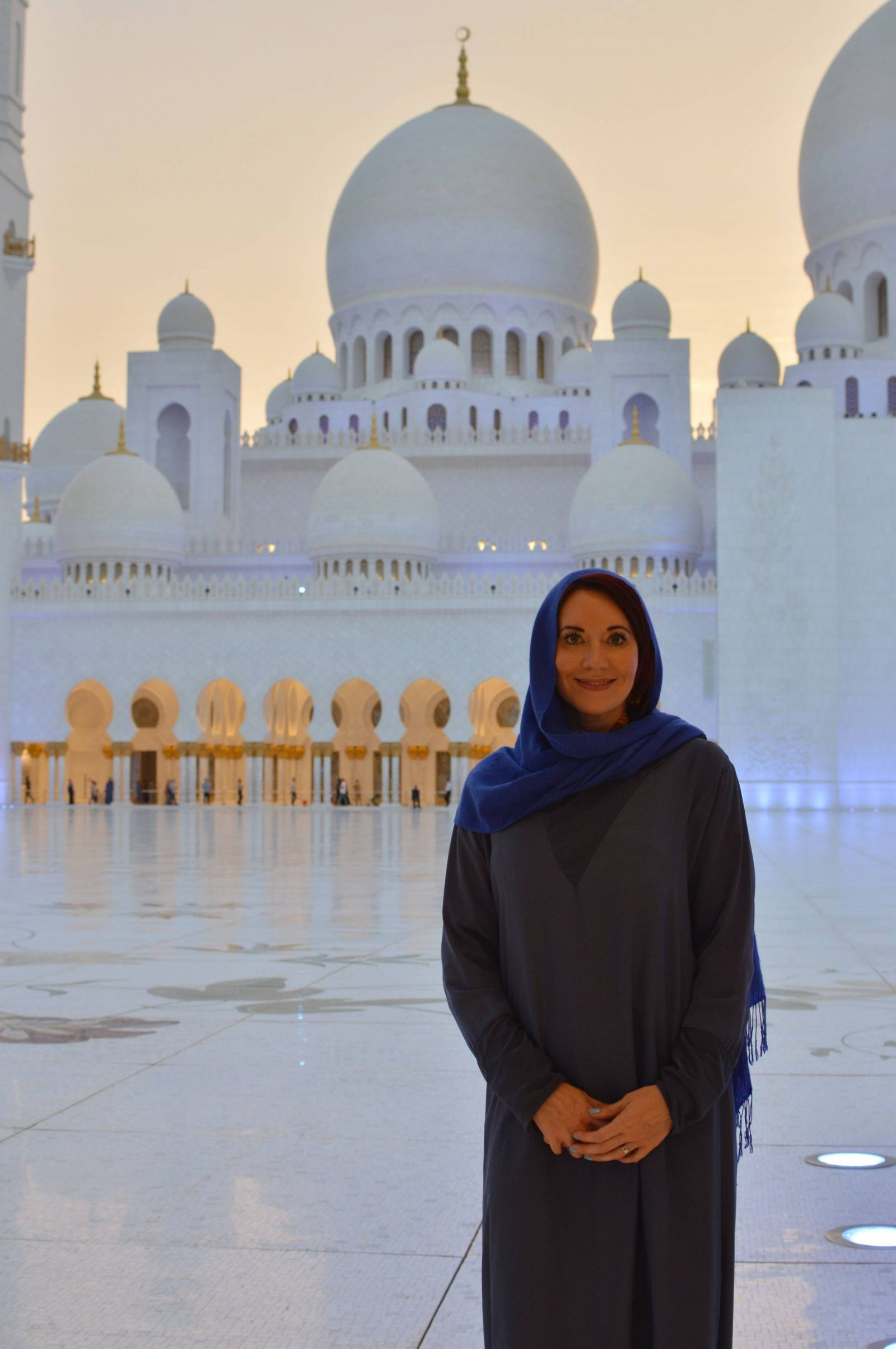 Visiting the Louvre Abu Dhabi and Sheikh Zayed Grand Mosque