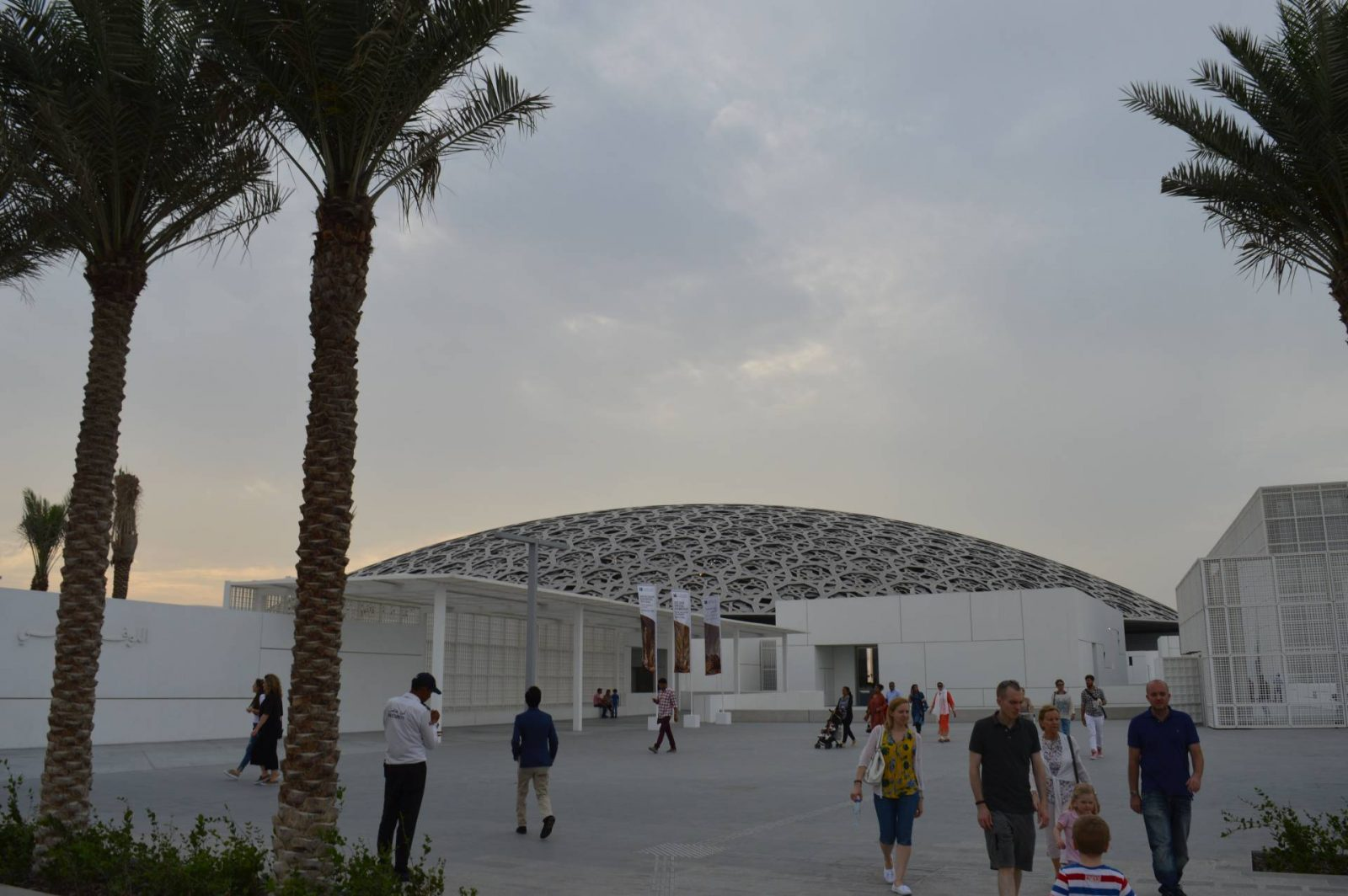 6 Things To Do in Abu Dhabi, Louvre Abu Dhabi rof dome outside