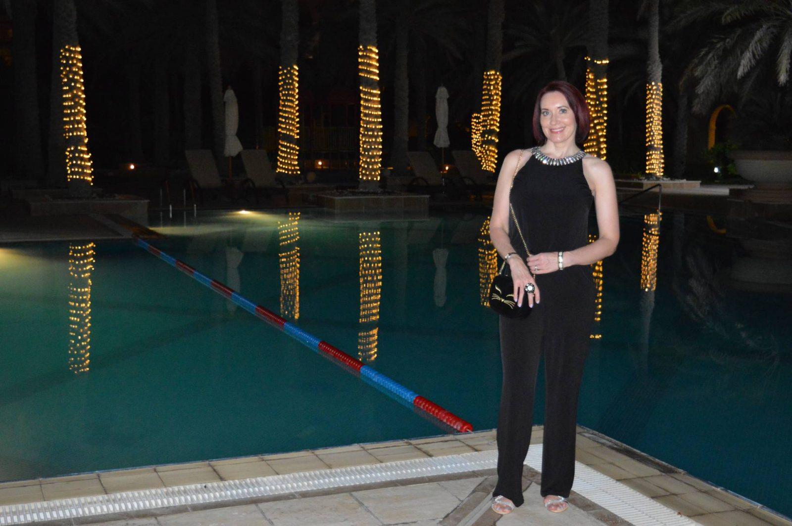 A Dressy Jumpsuit For Evening, Issa Violet jumpsuit