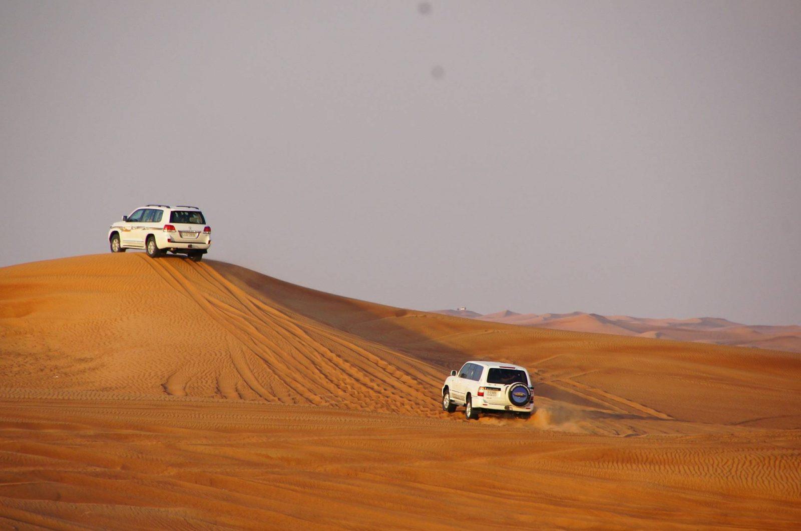 6 things to do in Abu Dhabi, desert safari