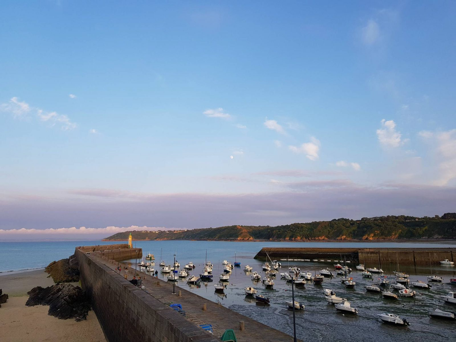 A wonderful week in Brittany + Sunday Reflections link up, boats in Binic harbour