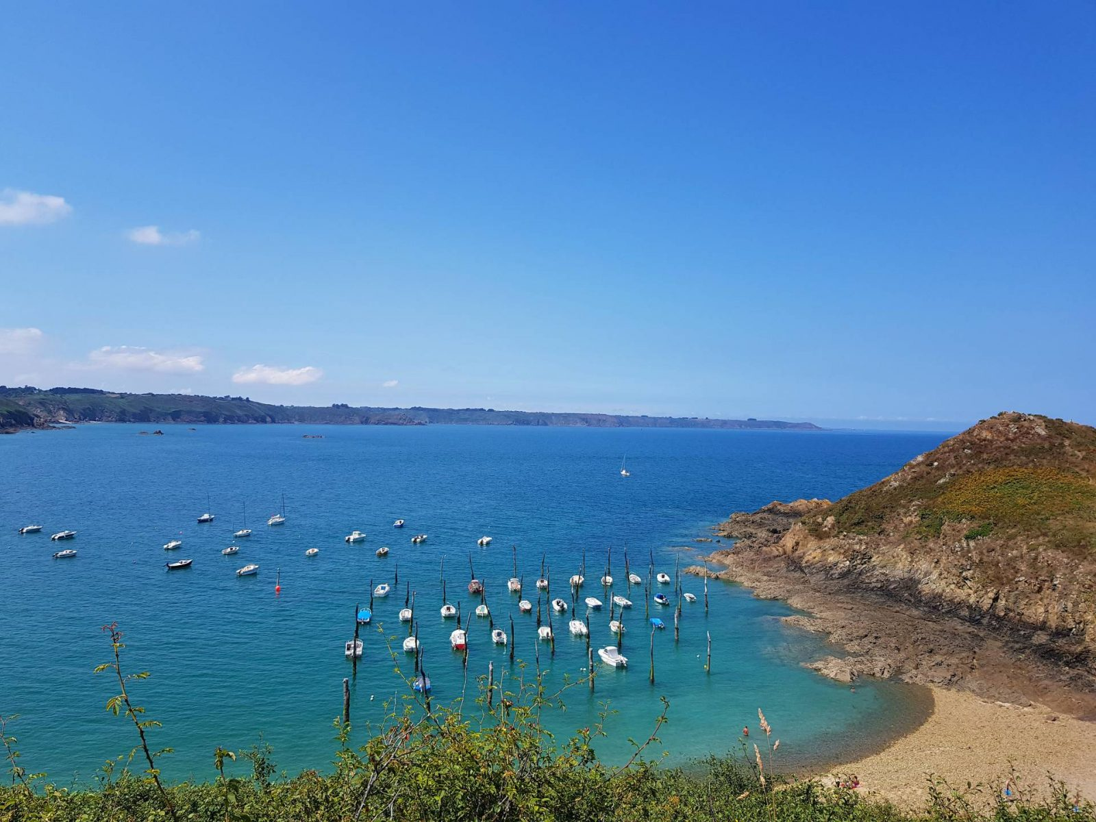 A wonderful week in Brittany + Sunday Reflections link up, Gwin Zegal beach