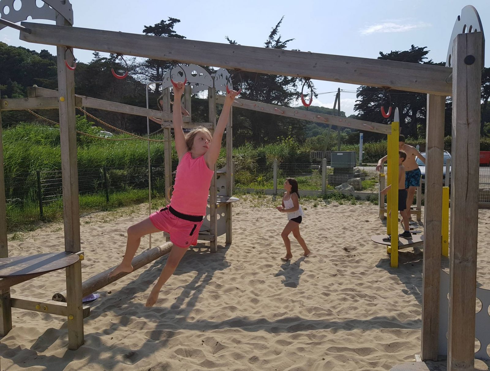 A wonderful week in Brittany + Sunday Reflections link up, La Palou play area