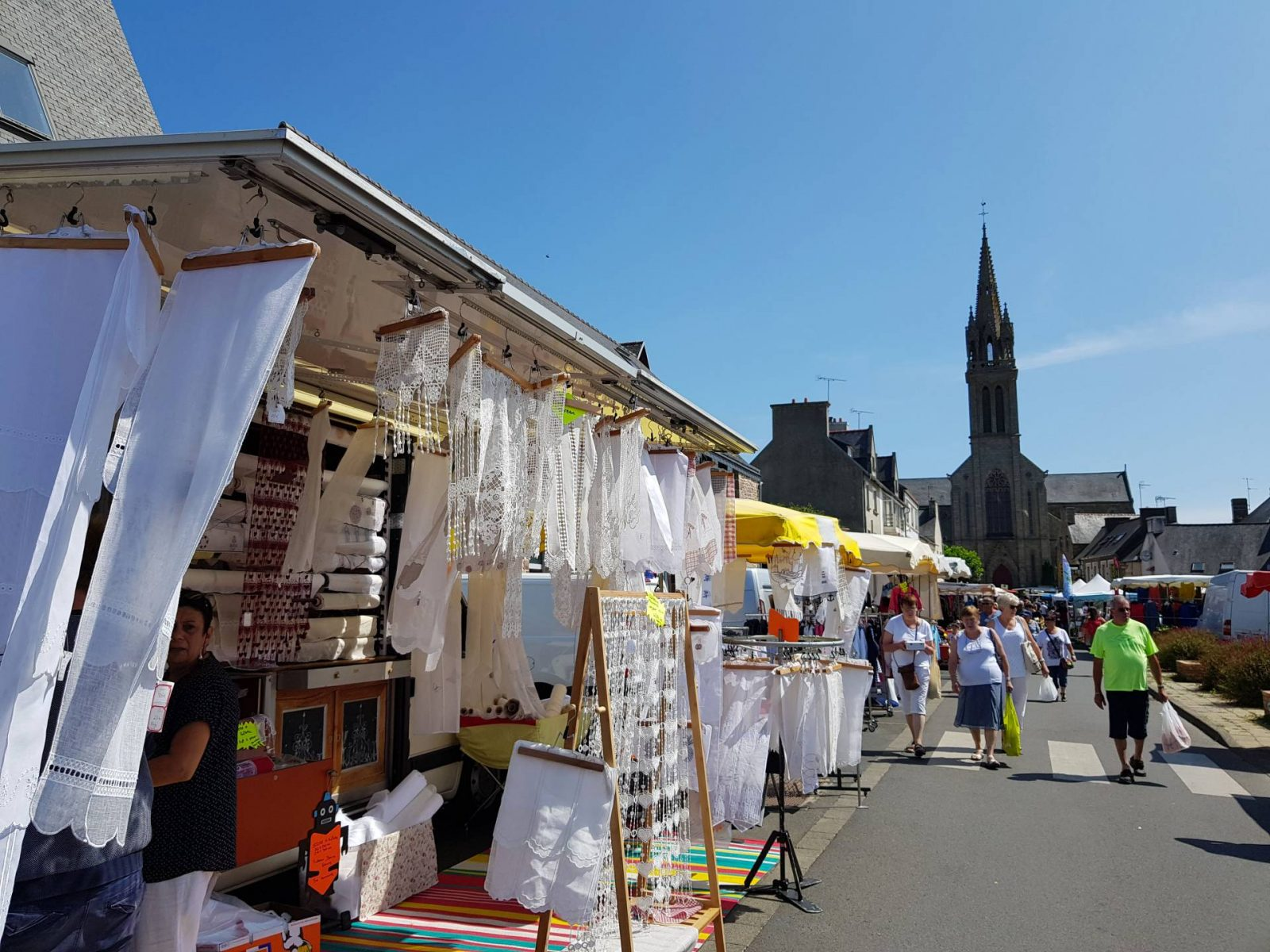 A wonderful week in Brittany + Sunday Reflections link up, Plouha market