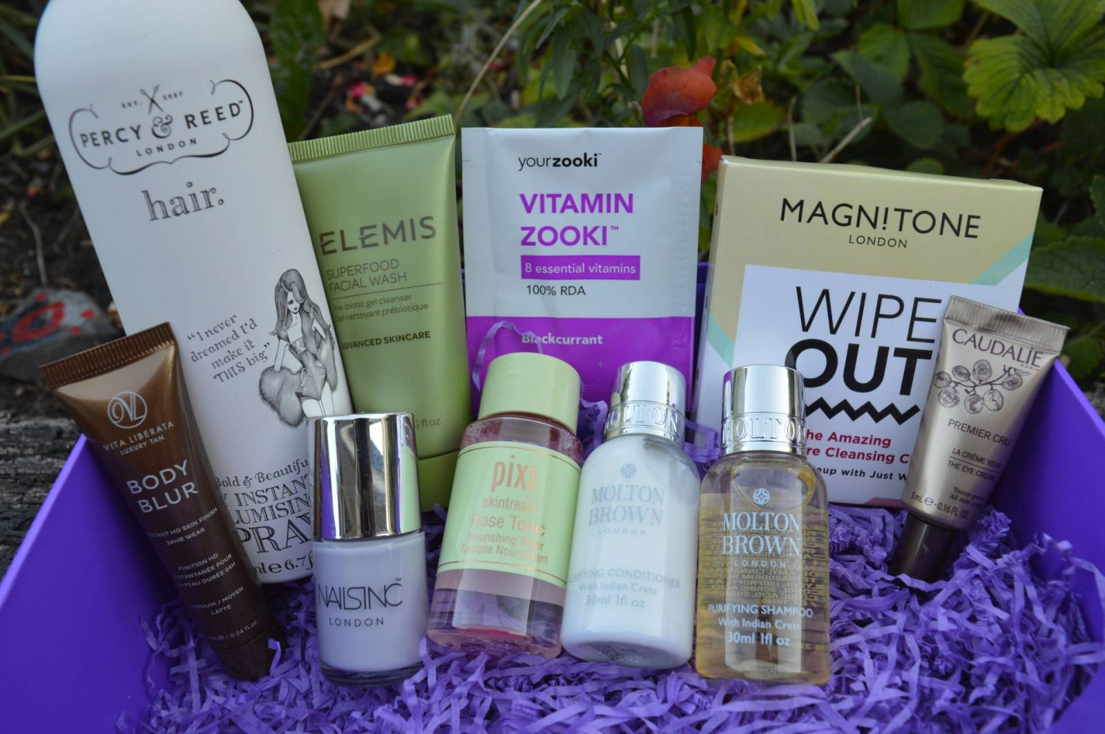 The Marks and Spencer Summer Beauty and Tili Violet Blooms Beauty Boxes