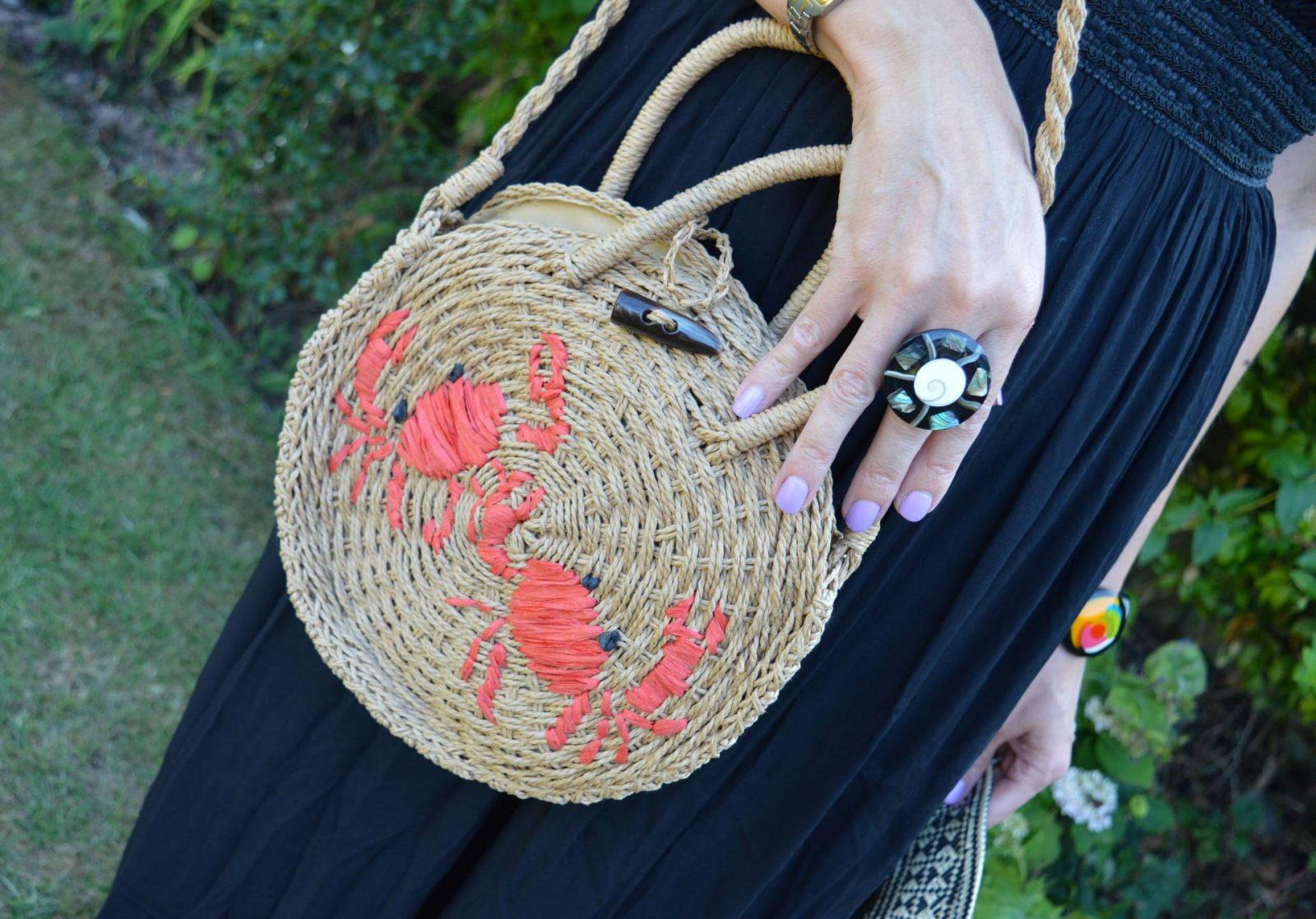 Krisp Black maxi dress for a hot Summer's day