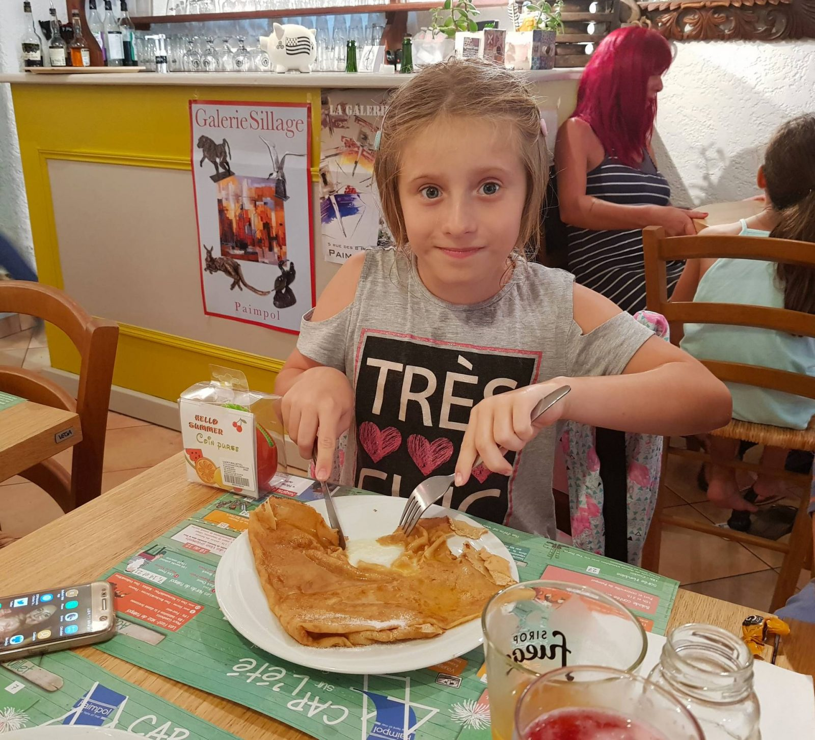 A wonderful week in Brittany + Sunday Reflections link up, creperie