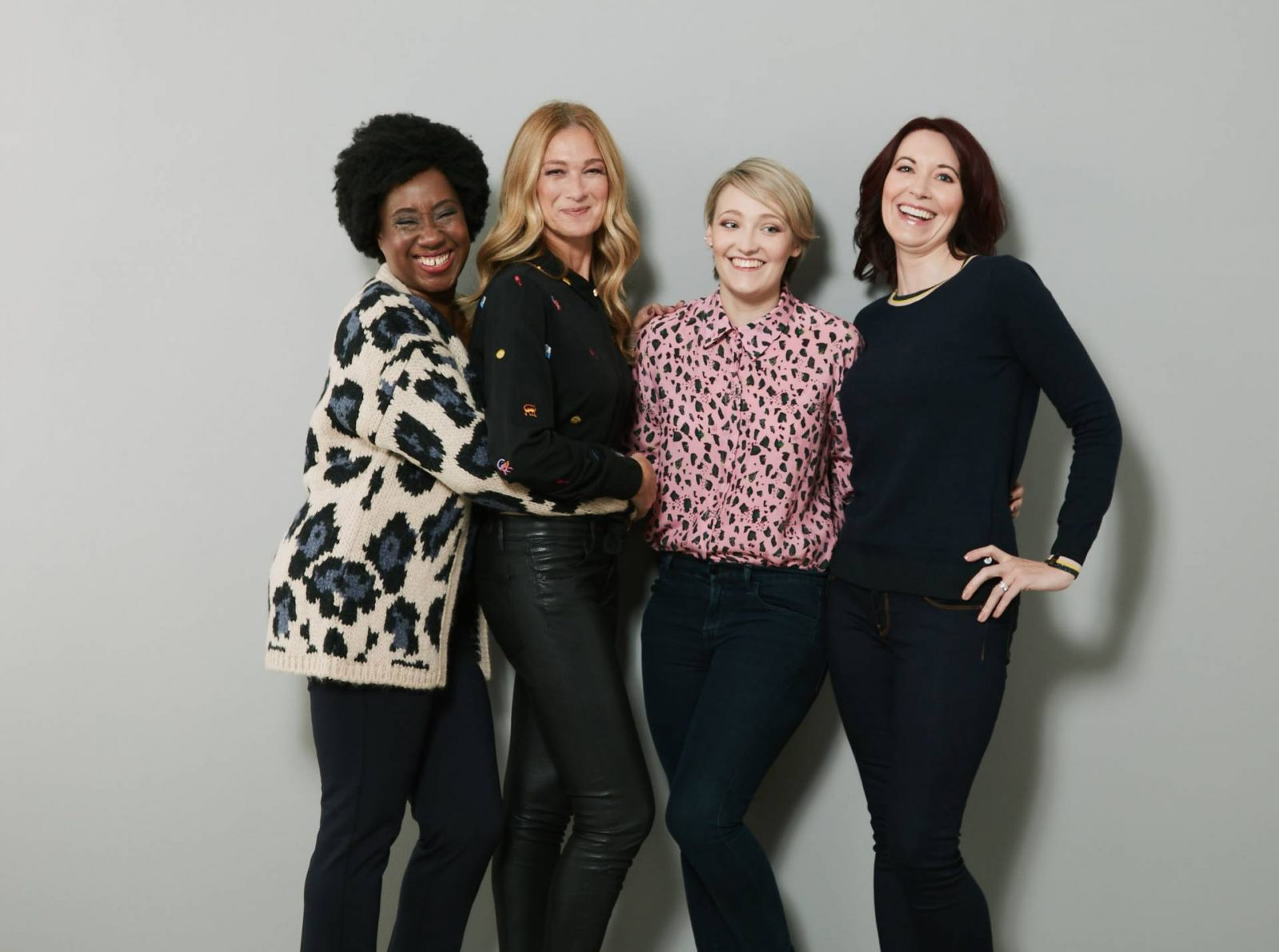 Modelling for the-Bias-Cut.com, group photo