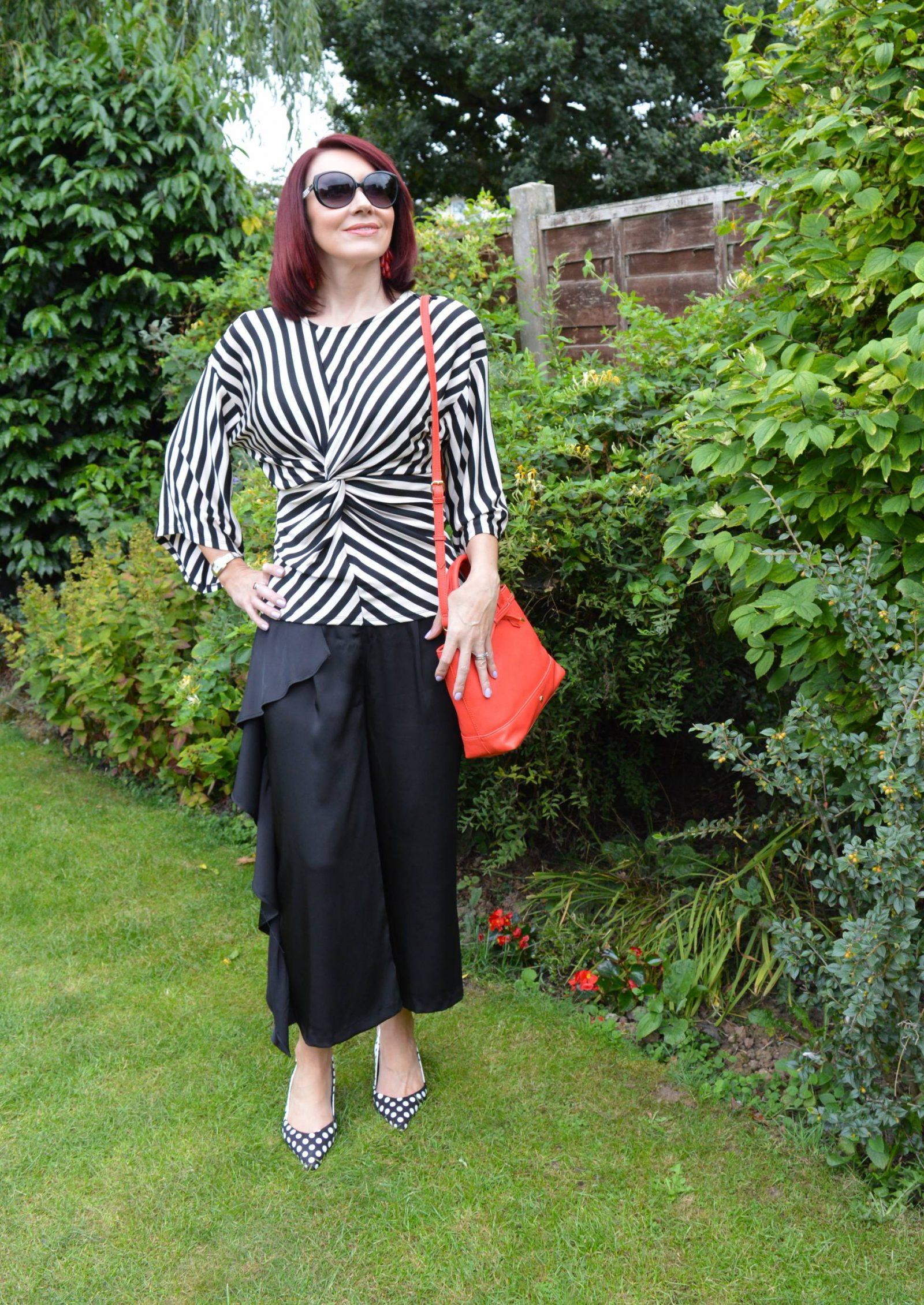 Stripes, polka dots and frills