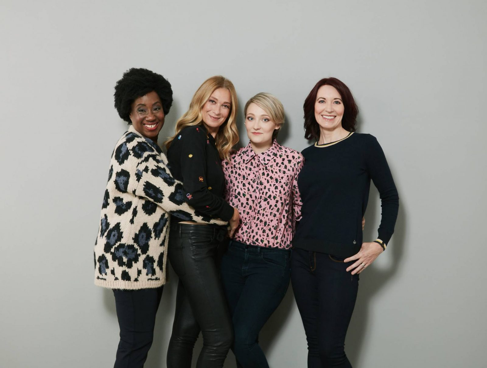 Modelling for the-Bias-Cut.com, group shot