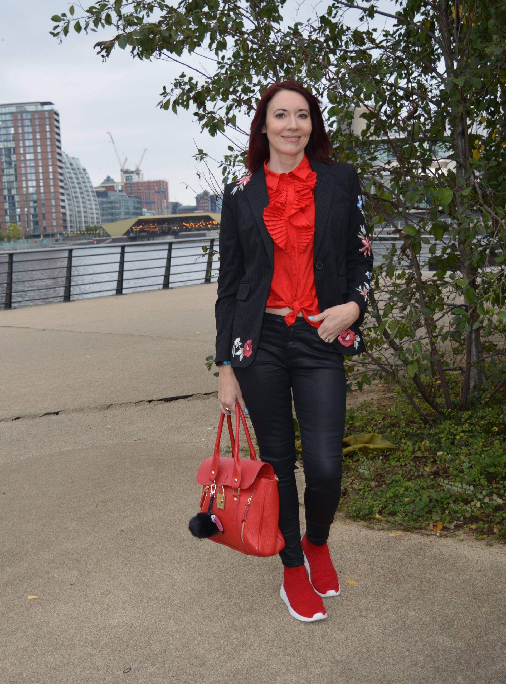 Key Trends For Your Autumn Wardrobe, Other Stories red frill blouse
