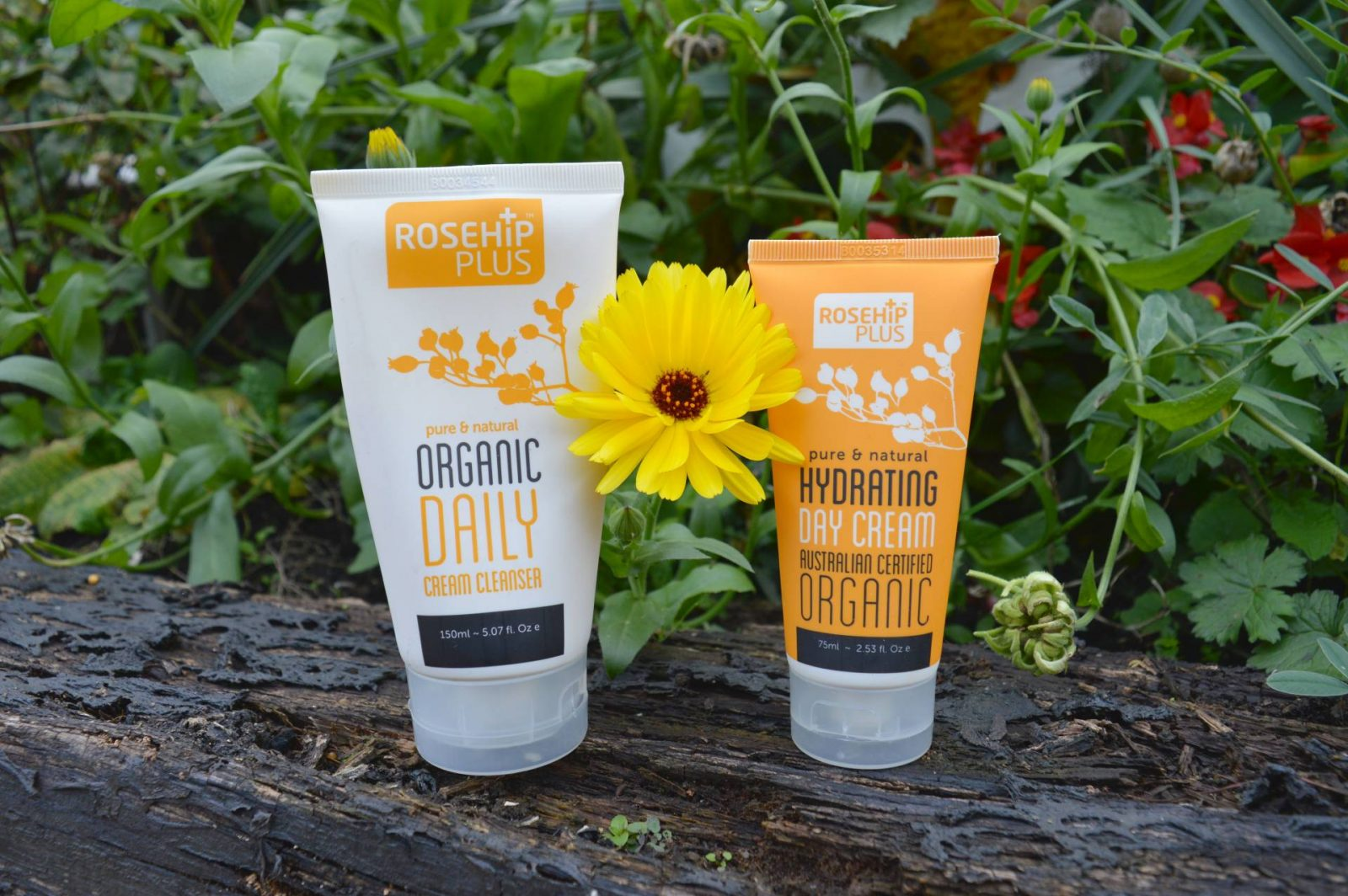 October Beauty Favourites, RosehipPLUS Organic Daily Cream Cleanser and Hydrating Day Cream
