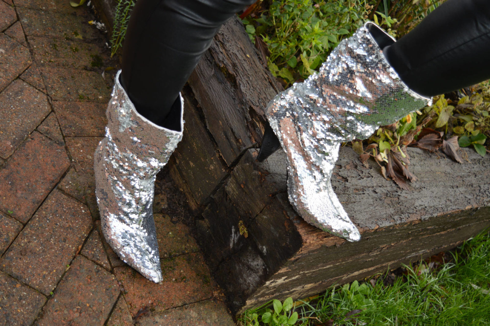 Sequin in the New Year with the Style Not Age collective,River Island sequin boots