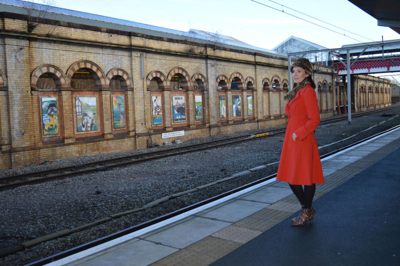 It's a wonderful life - the importance of kindness at Christmas #itsawonderfulline Crewe station