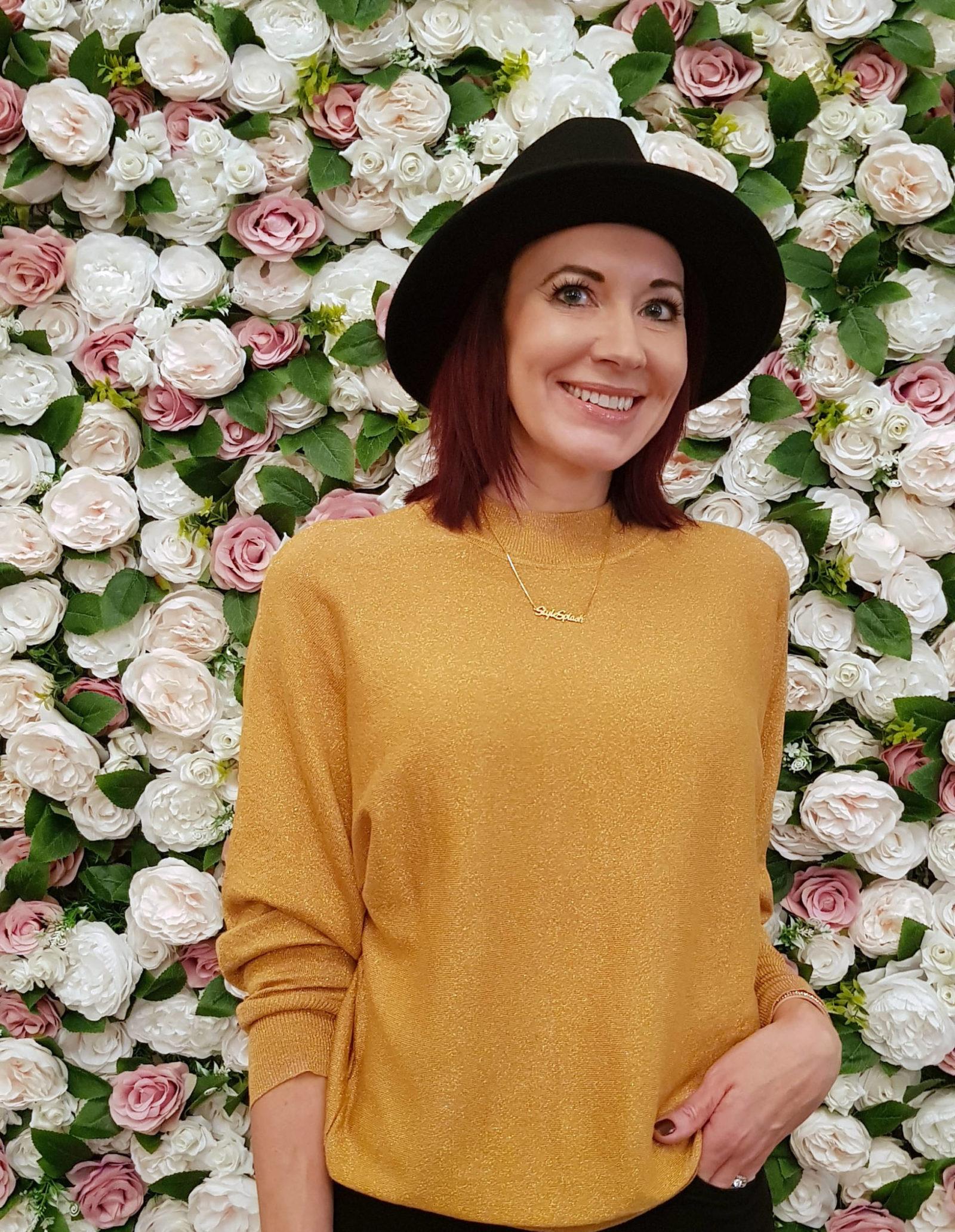 Blogosphere Festival 2018, flower wall