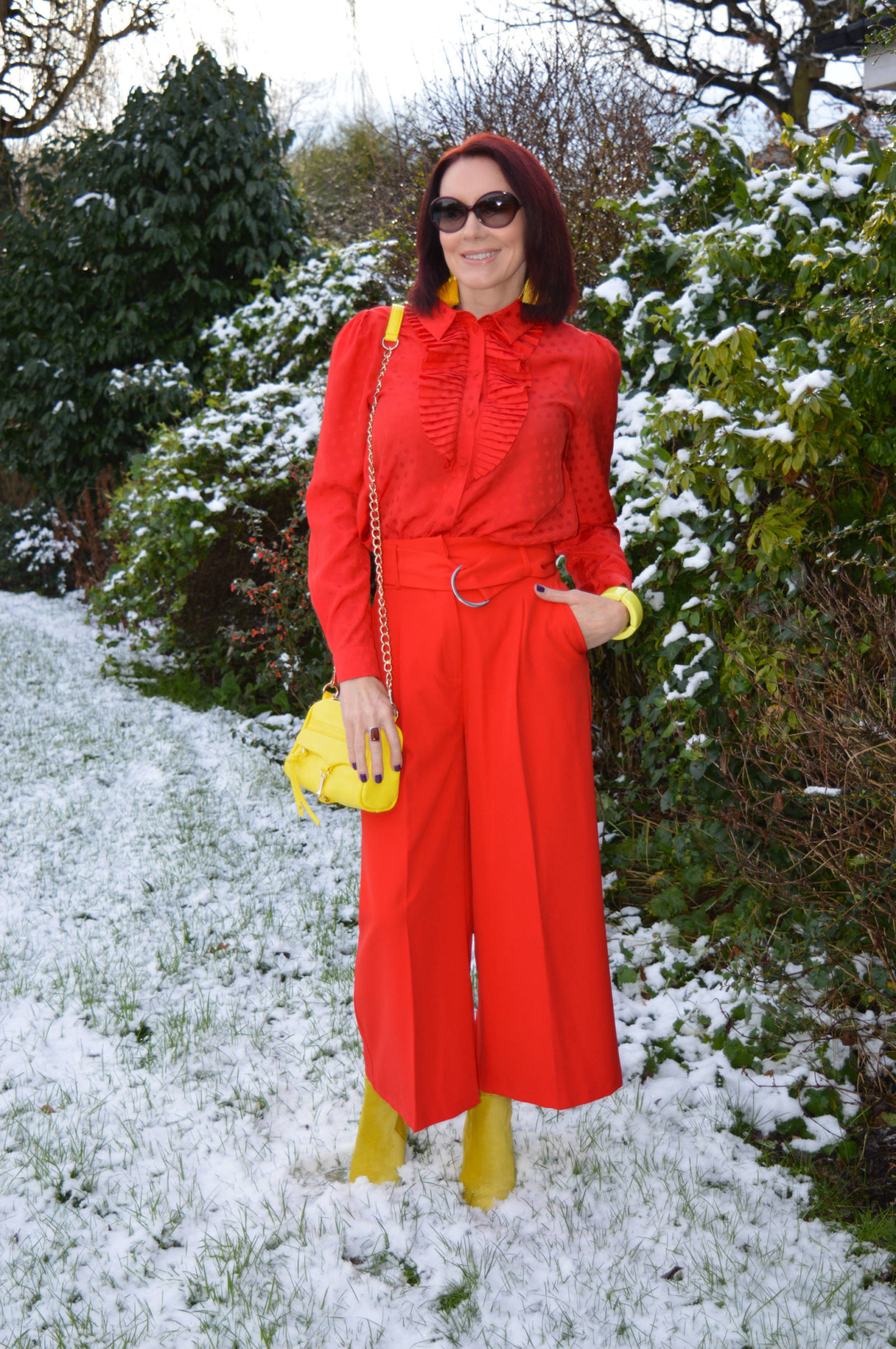 Stylish Mondays - Ladies in Red