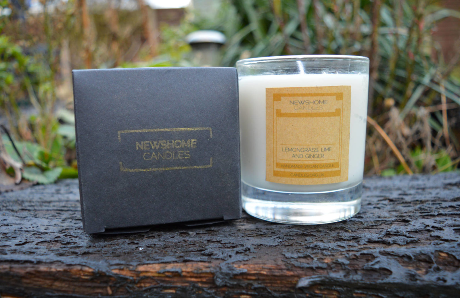 February Beauty Favourites , Newshome organic vegan candle